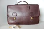 Double Gusset Large Briefcase Portfolio $299.99